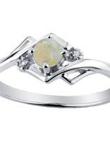 Opal & Diamond