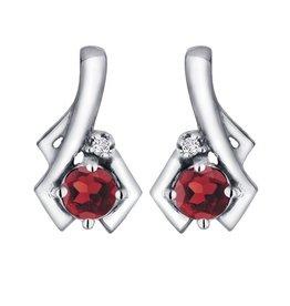 Garnet & Diamond