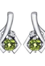 Peridot & Diamond