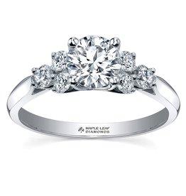 Maple Leaf Diamonds Brilliant-ML214 (0.50ct) Canadian