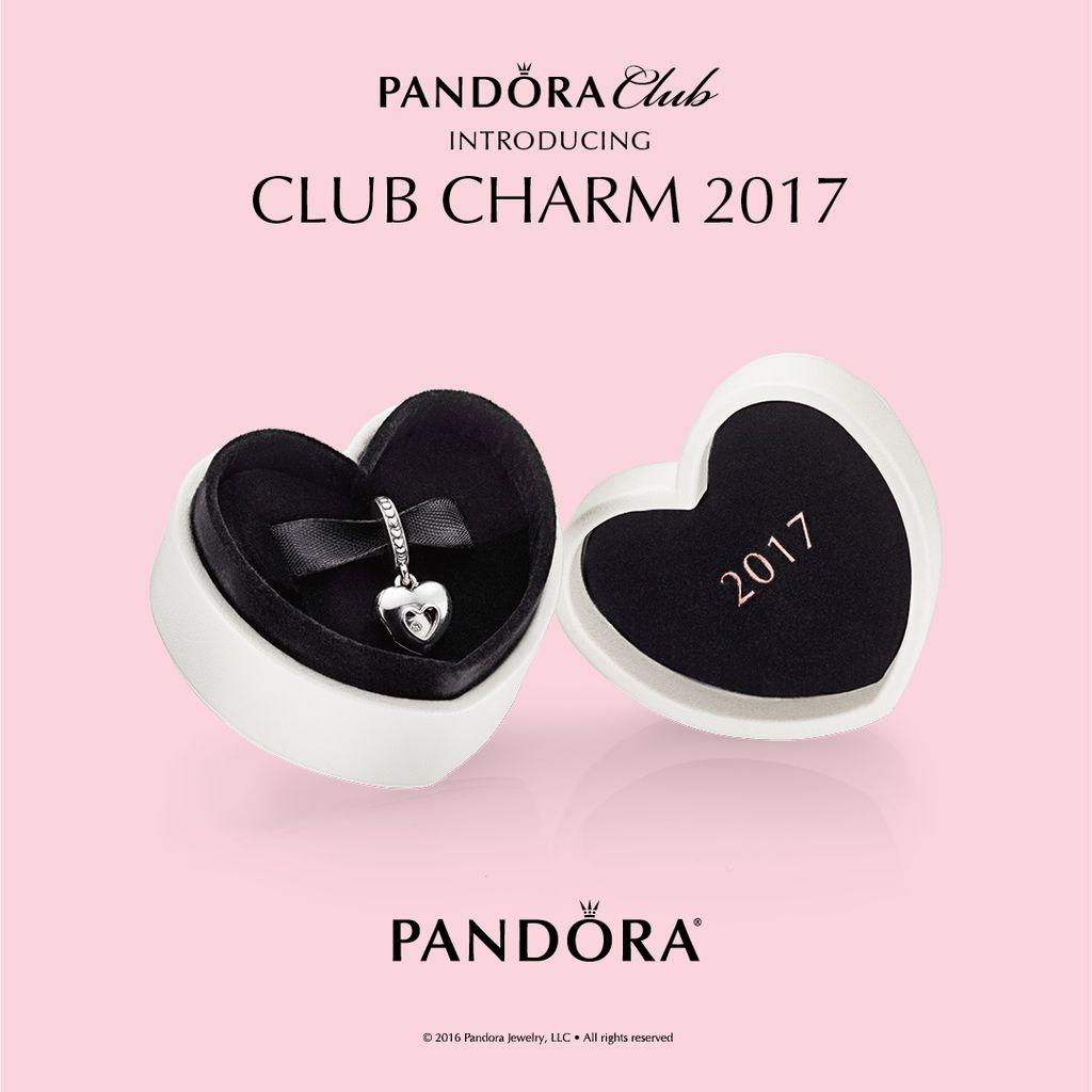 Pandora Club Charm 2017