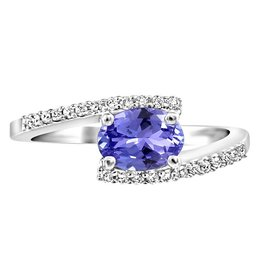Tanzanite and Diamonds