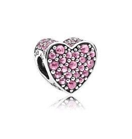 Pandora Pink Dazzling Heart
