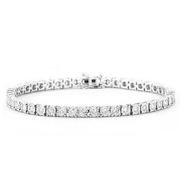 Tennis Brac Diamond (1.00ct) White Gold