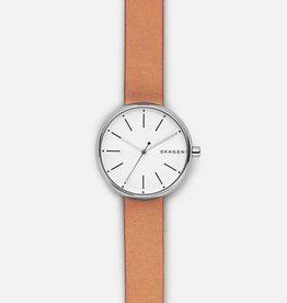 Skagen Signatur Tan Leather Watch