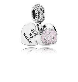 Pandora Mother's Rose Dangle