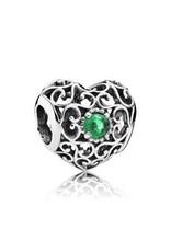 Pandora Heart Royal Green - May
