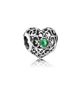 Pandora Heart Royal Green - May