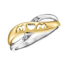 Diamond Mom Ring