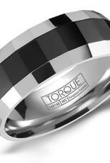 Tungsten & Black Ceramic