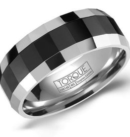Tungsten & Black Ceramic