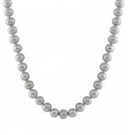 Necklace Grey (9-9.5mm)