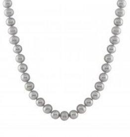 Necklace Grey (9-9.5mm)