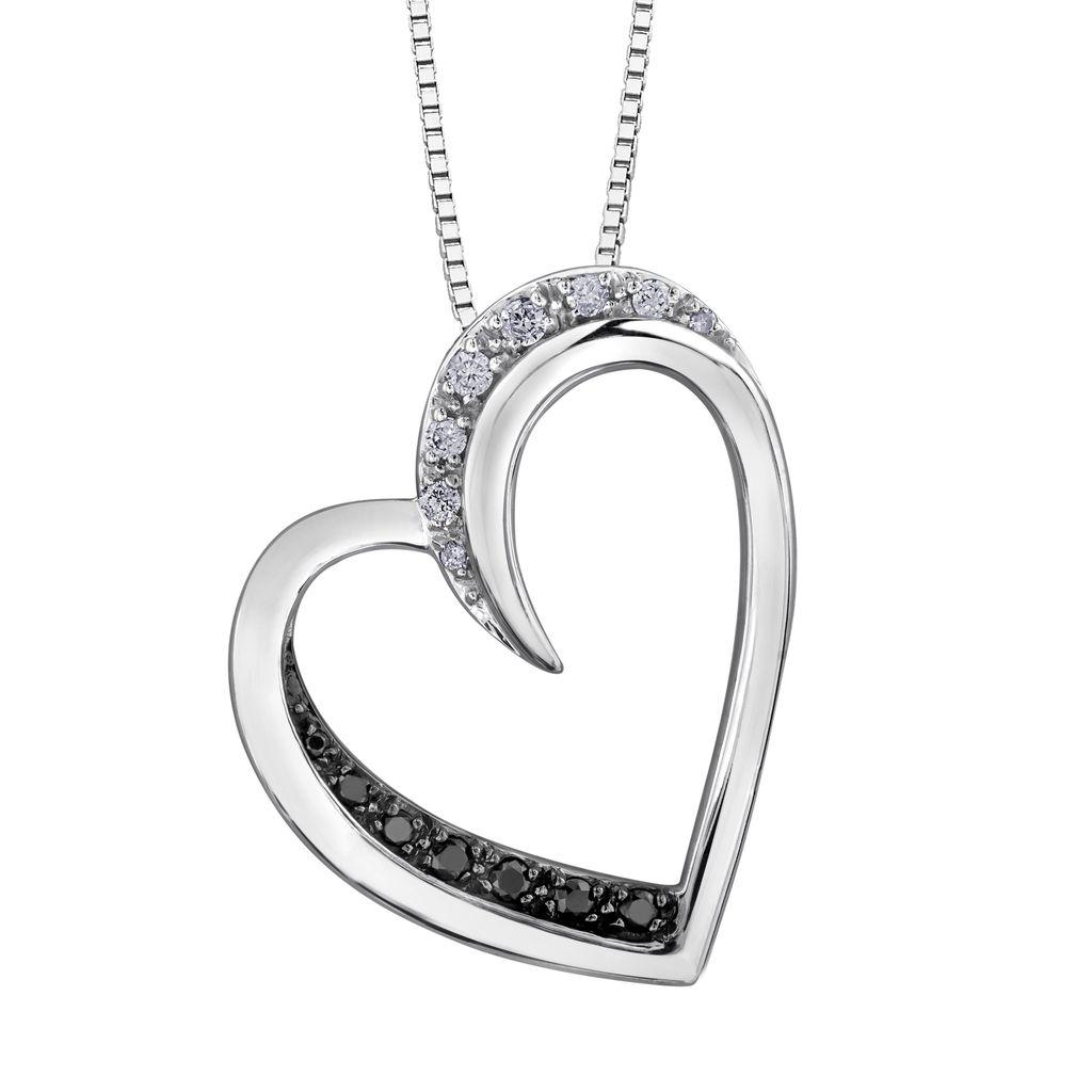 Black Diamond Heart