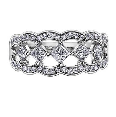 Maple Leaf Diamonds Right Hand (0.75ct)