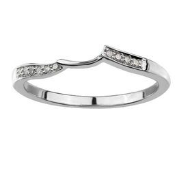 Matching Band (0.05ct) White Gold