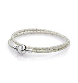Pandora 590745CIW - Ivory White Leather