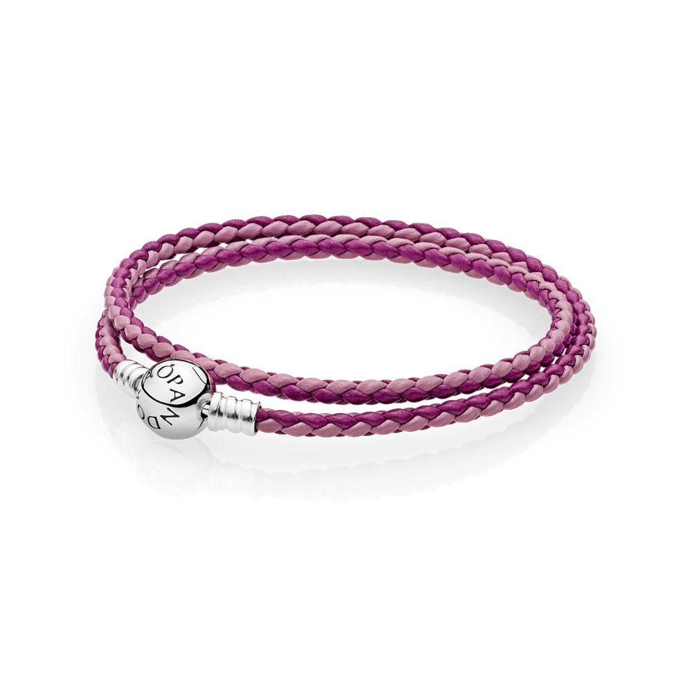 Pandora Mixed Pink Leather