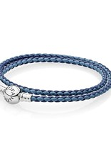 Pandora Mixed Blue Leather