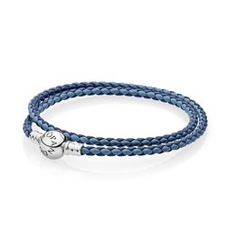 Pandora 590747CBMX - Mixed Blue Leather