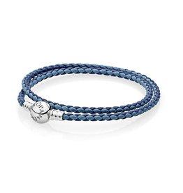 Pandora Mixed Blue Leather