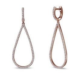 Lafonn Pave Dangle-R