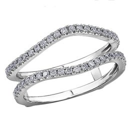 Ring Guard (0.34ct) White Gold