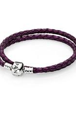 Pandora Purple Leather