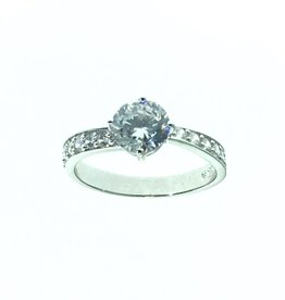 Brilliant CZ Ring