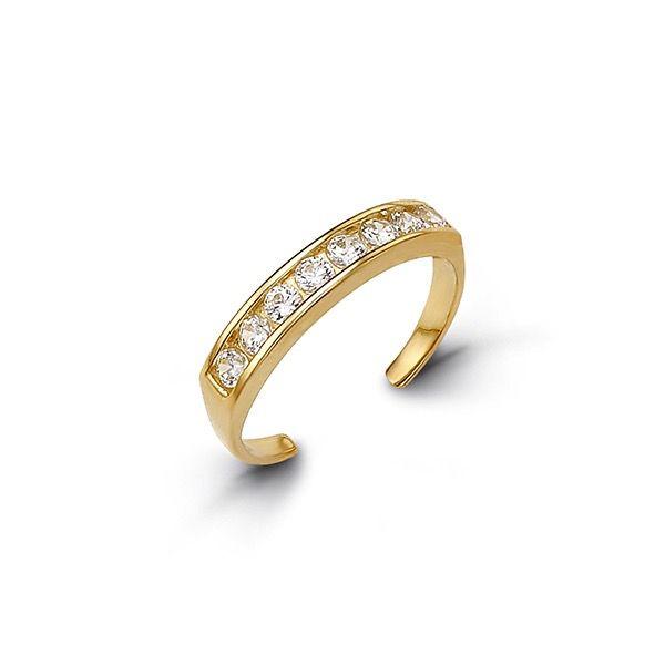 Toe Ring (Yellow Gold)