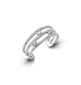 Toe Ring (White Gold)