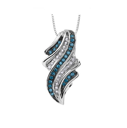 necklace blue pendant products silver diamond d peace sterling