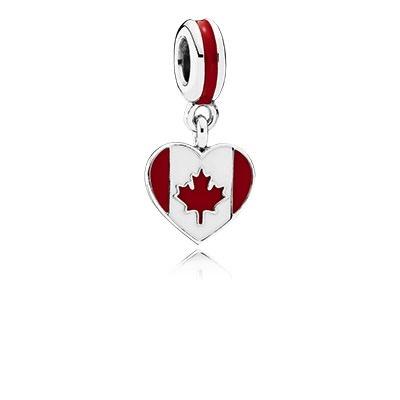 Pandora Canada Heart Flag