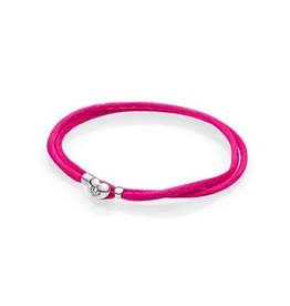 Pandora Moment Fabric Cord Pink Hot