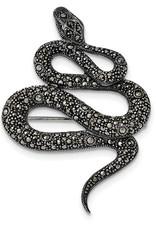 Antiqued Snake Pin