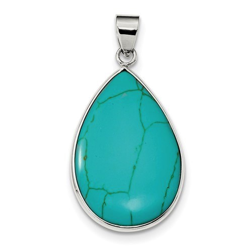 Teardrop Turquoise