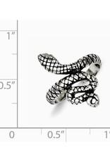 Snake Oxidized Toe Ring