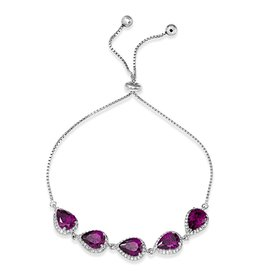 Adjustable Purple CZ