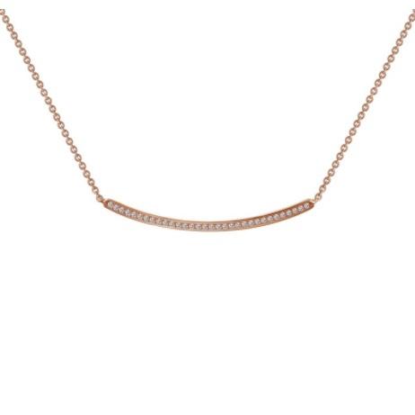 Lafonn Bar Necklace-R (Curved)