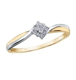 Two Tone (0.09ct)