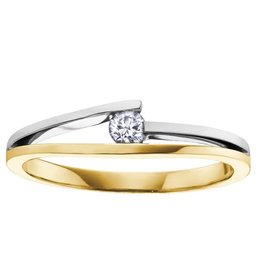 I am Canadian Brilliant (0.09ct) Canadian Diamonds Ring