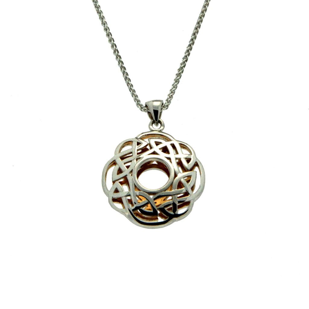Keith Jack Window to the Soul Pendant Scalloped