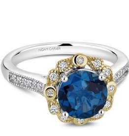 Noam Carver Blue Topaz & Diamonds NC