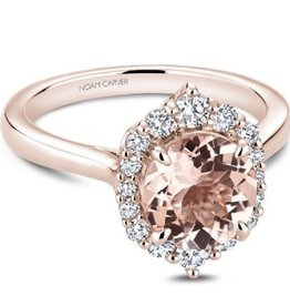 Noam Carver Morganite & Diamonds NC