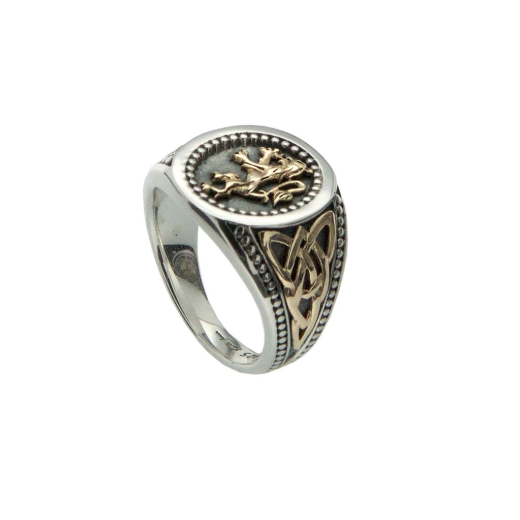 Buy Silver Amp Gold Scottish Ring Online In Canada
