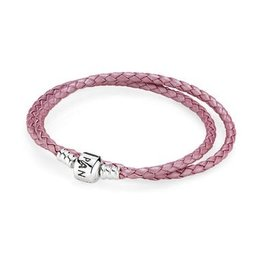 Pandora 590705CMP - Pink Leather