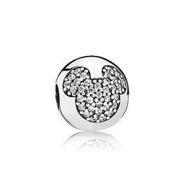 Pandora 791449CZ - Mickey Pave Clip