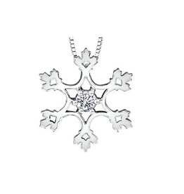 Maple Leaf Diamonds Snowflake (0.10ct) Canadian