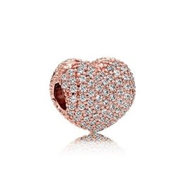 781427CZ - Pave Open my Heart