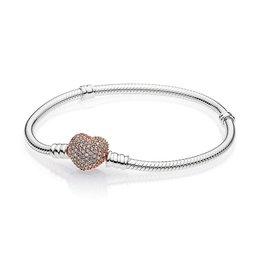 Pandora Pave Heart Clasp